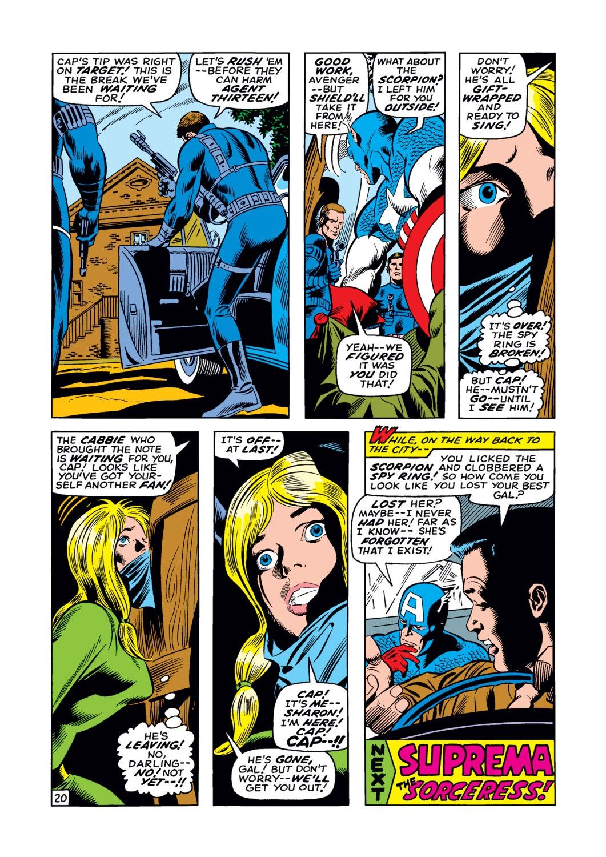 Captain America (1968) Issue #122 #36 - English 21