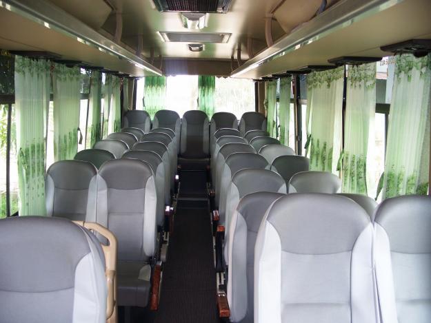 Nội thất ISUZU SAMCO xe 29 chỗ