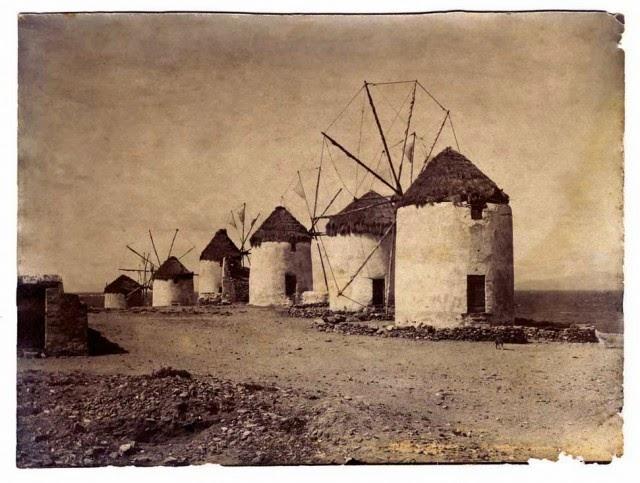 Знаменитые мельницы, остров Миконос