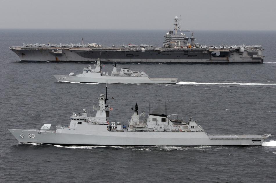 Uss george washington cvn 73 aircraft carrier global military