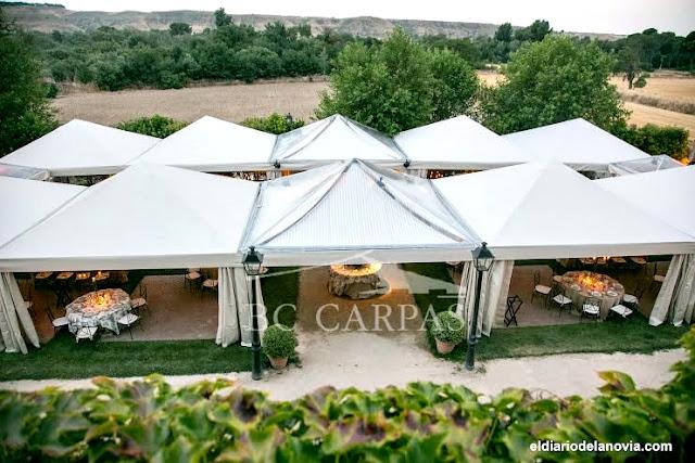 Celebra tu boda en una carpa: BC Carpas