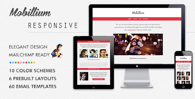 MOBILLIUM A Place Where Elegant Design Meets Mobile Friendly - Mobile friendly email templates
