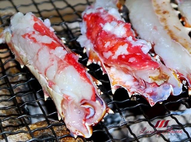 delicious akasaka kitafuku tarabagani yaki dining review