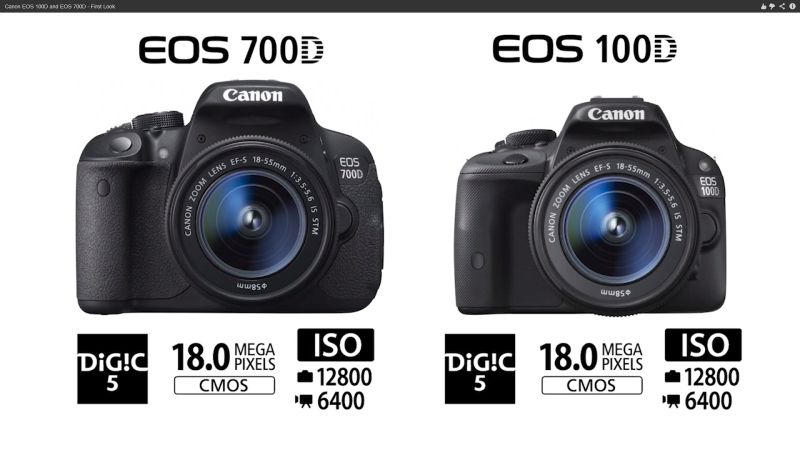 Canon Announces 700d 100d Dallas Goh Photography Eos Dslr Camera Amazingly The Cheaper Gets A Really Awesome Live View Af System That Covers 80 Of Frame While Only Miserable 30
