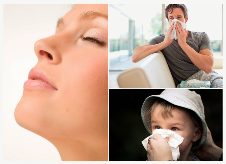 respirar com o nariz