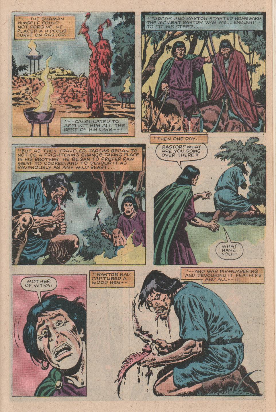 Conan the Barbarian (1970) Issue #156 #168 - English 19