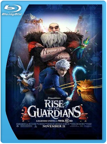 El Origen de los Guardianes (2012) BrRip 720p Latino