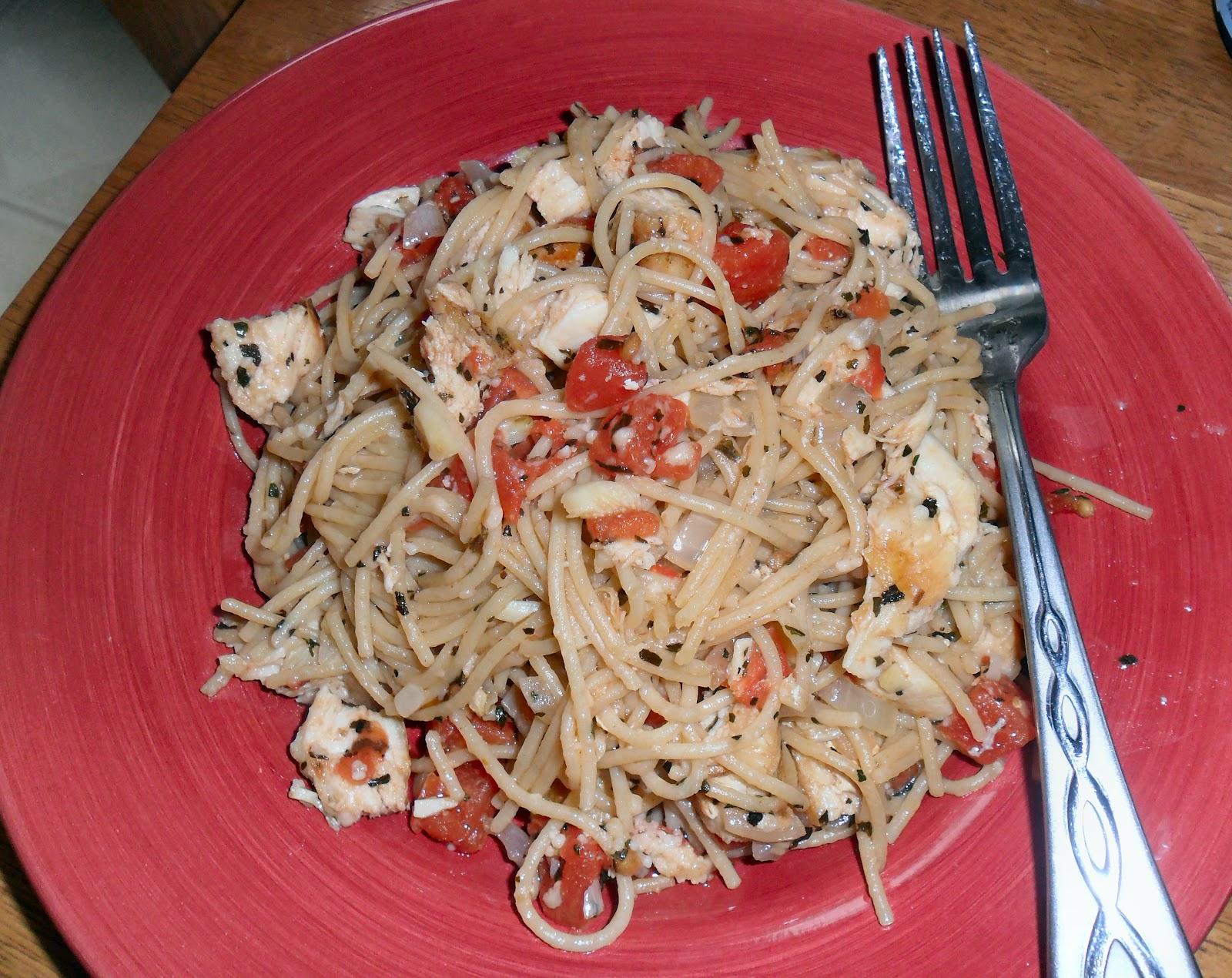 The Last Cordwainer: Tomato Basil Garlic Chicken