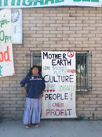 Dine' Walkers to Sacred Mountains: 'Warriors Take a Stand!'