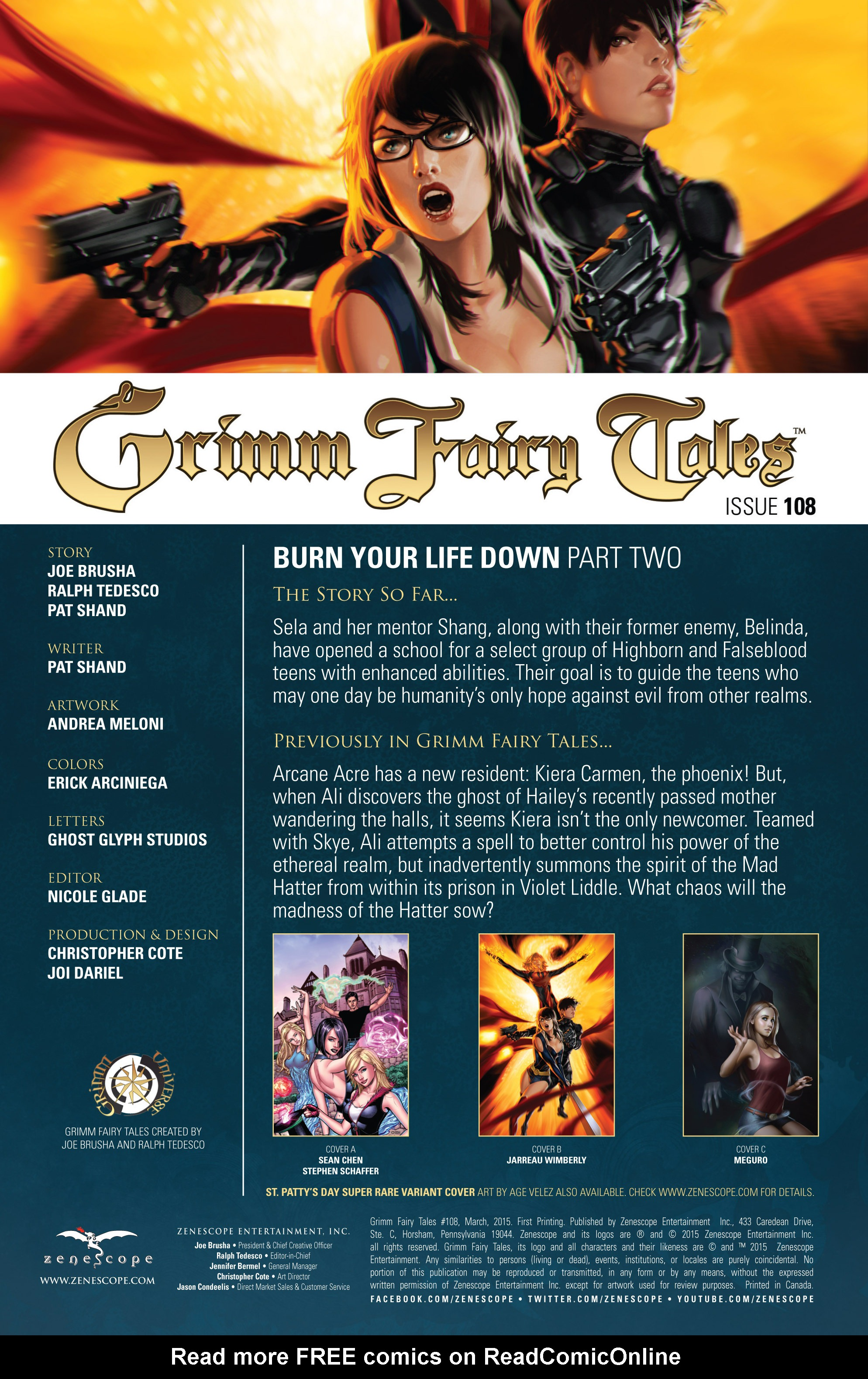 Grimm Fairy Tales (2005) Issue #108 #111 - English 2
