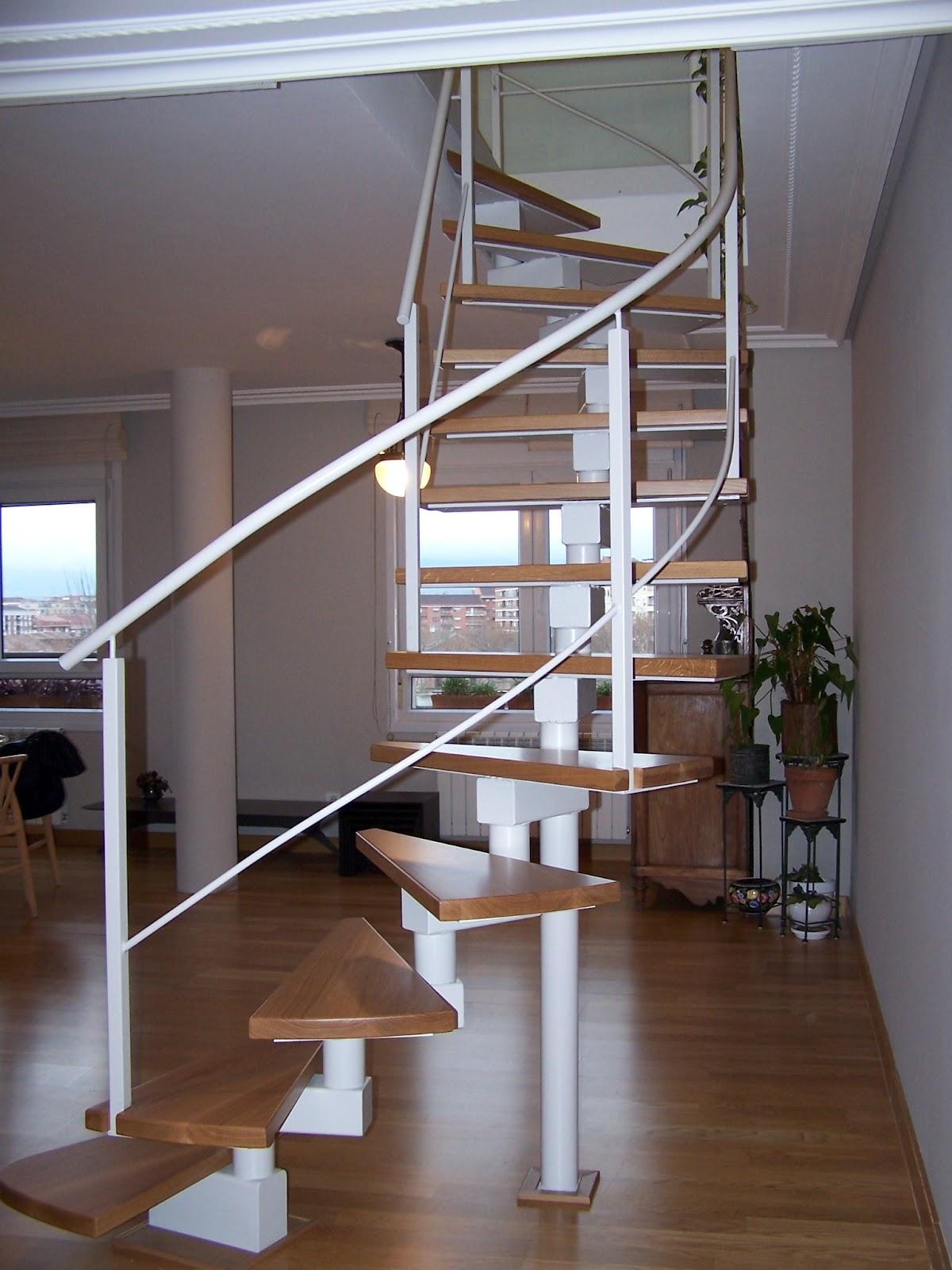 Talleres montiel escalera de caracol - Escaleras para duplex ...