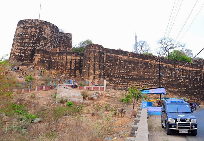 Bandhavgarh Fort in Bandhavgarh, Madhya Pradesh