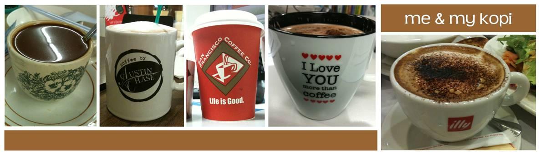 me and my kopi...