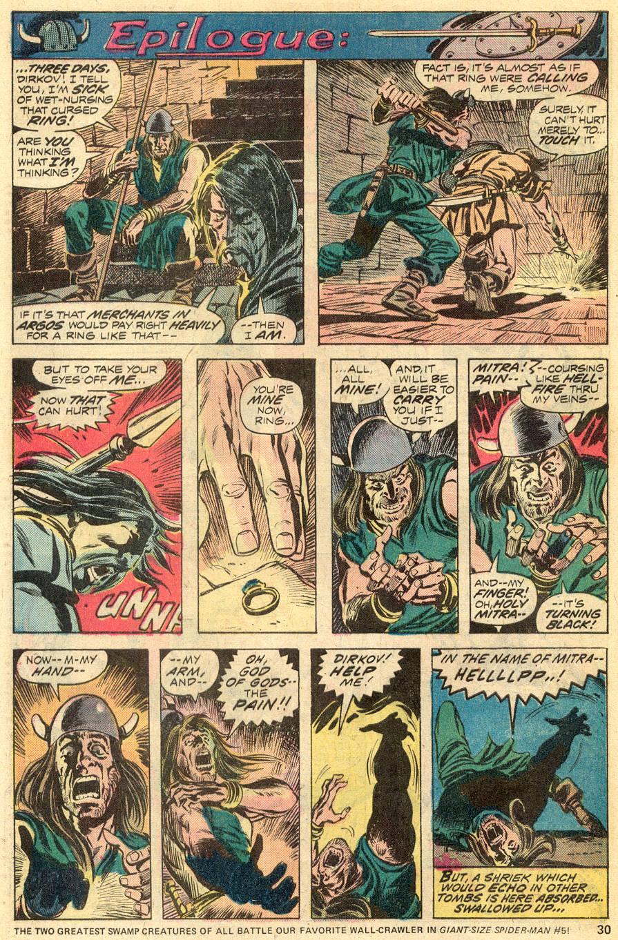 Conan the Barbarian (1970) Issue #52 #64 - English 18