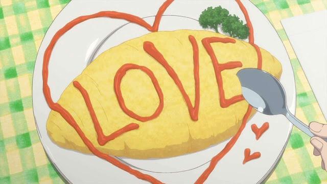 Omurice jepang, cara membuat omurice, resep omurice