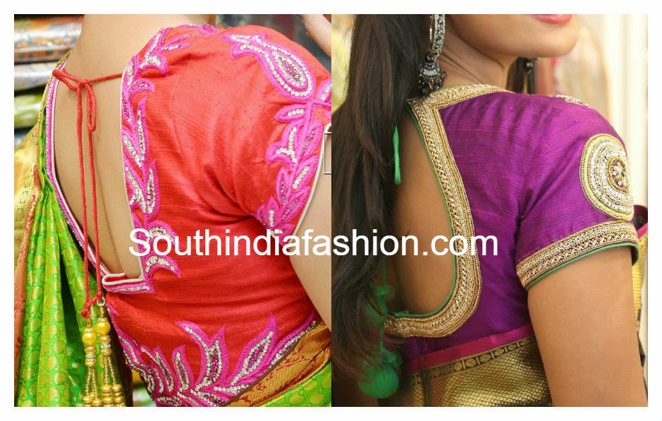 trisha trends blouse designs