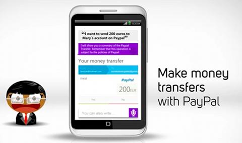 Transfert d'argent Paypal avec Sherpa