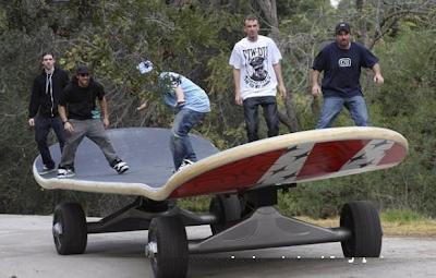 Papan Skateboard terbesar di Dunia