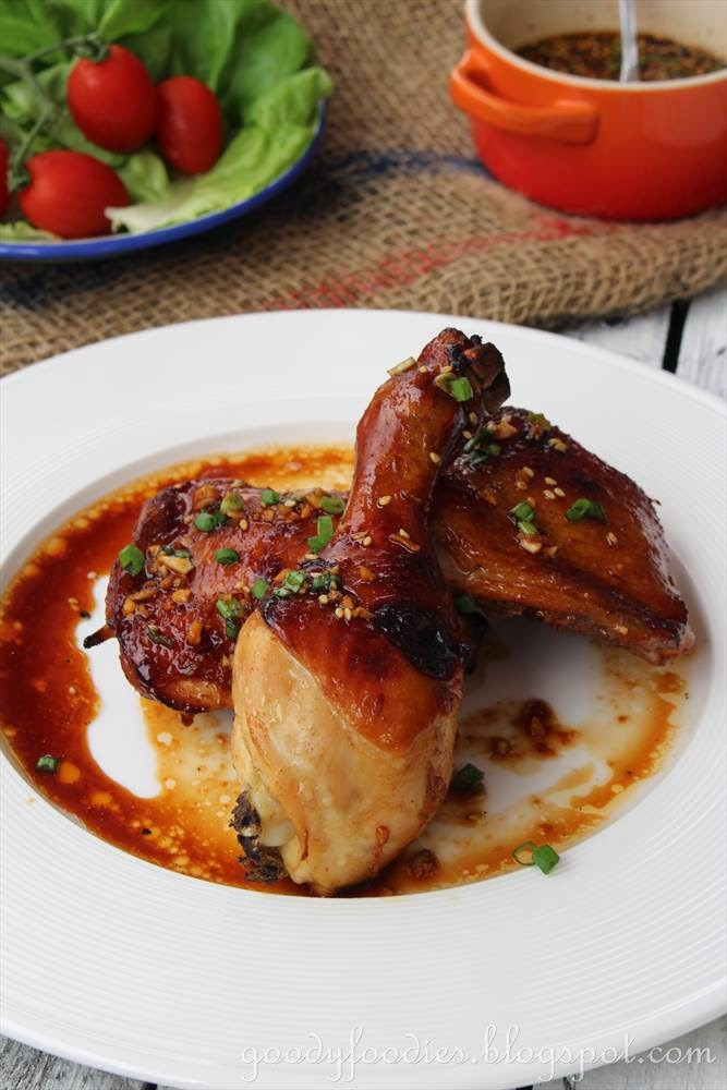 Goodyfoodies recipe korean grilled chicken bobby flay for this recipe bobby flay uses a whole chicken but i opted to use chicken maryland instead since i find that drumstick and thigh are best for roasting and forumfinder