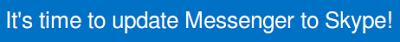 Windows Messenger Skype