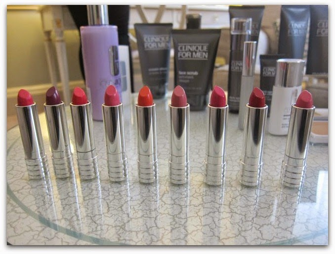 Clinique Long Last Soft Matte Lipstick Range