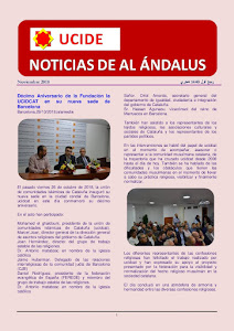 Noticias de Al Ándalus de noviembre 2018