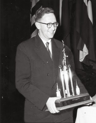 Smyslov the winner of 1953 Zurich International.