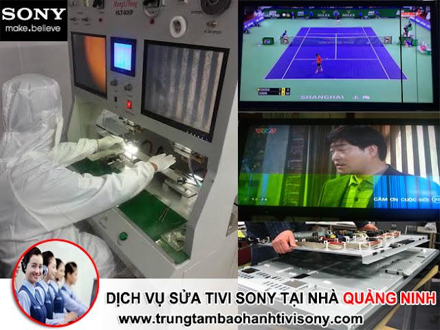 Dịch vụ sửa tivi Sony tại nhà Quảng Ninh