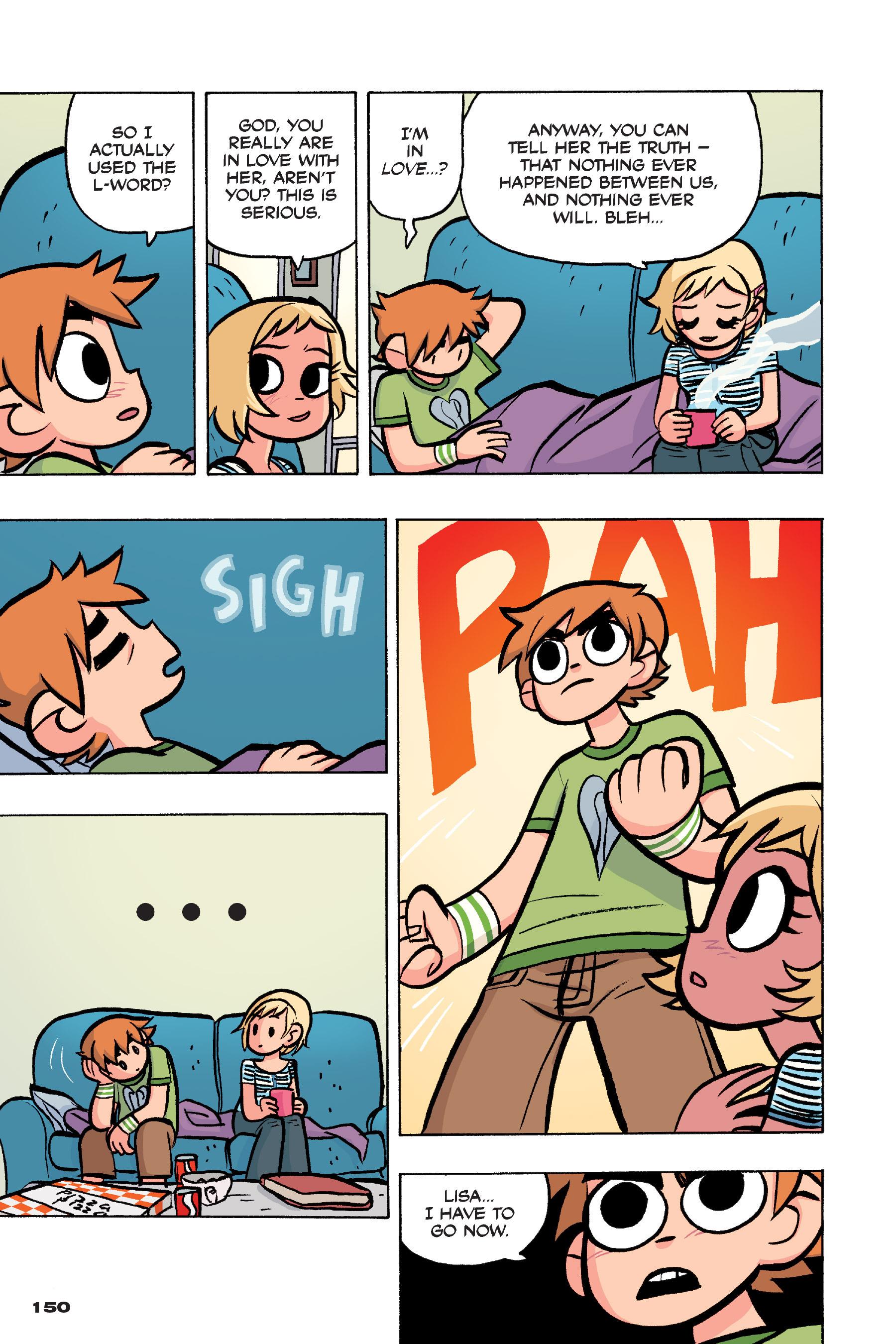 Read online Scott Pilgrim comic -  Issue #4 - 147