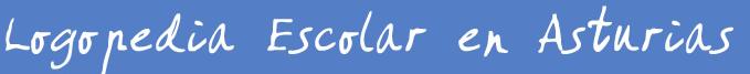 LOGOPEDIA ESCOLAR ASTURIAS