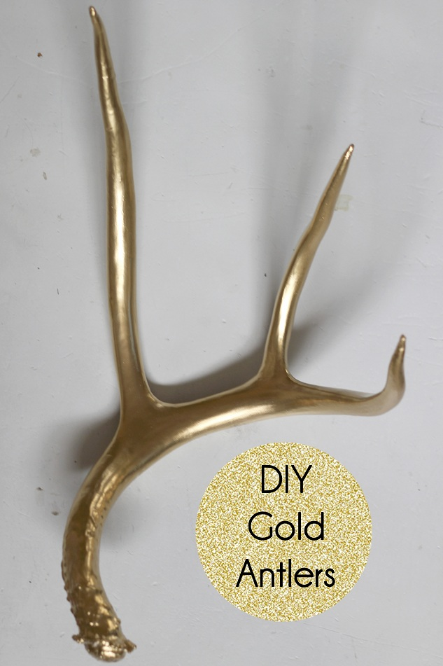 A MAMA IN LOVE DIY Modern Antlers