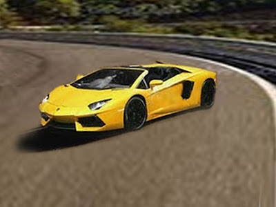 Sports cars lamborghini 2013