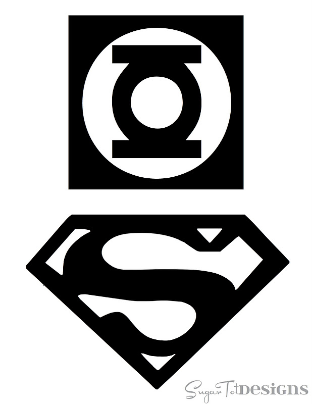 This font has every superhero logo and more. My son loves me just