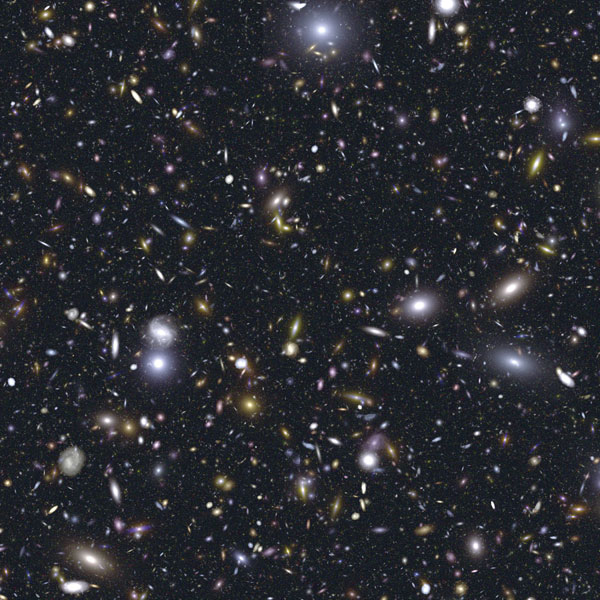 The James Web Space Telescope Simulated Deep Field Image