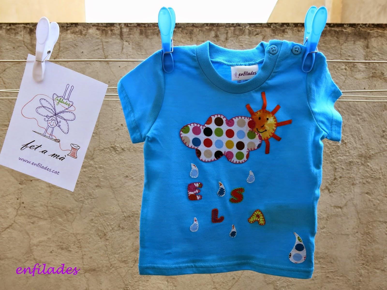 Samarreta Elsa - disseny Enfilades fet a mà