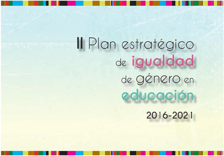 II Plan estratégico de igualdad de género en educación