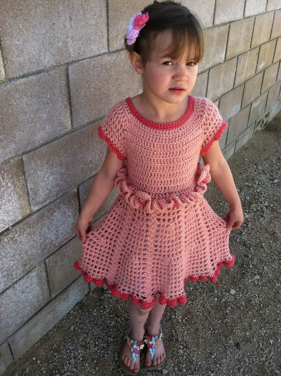 A Military Wifes Tale: Petal Ruffle Dress