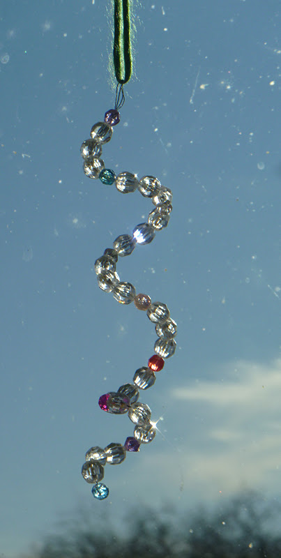 Verde Mama: Beaded Icicle Ornaments