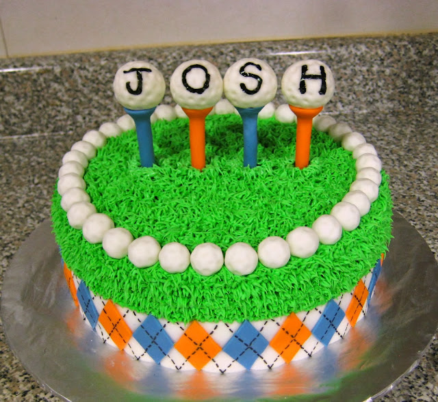 Golf Themed Cake 1