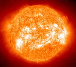 Le saviez-vous ? Super-centrale à fusion cosmique Soleil-boule-de-feu