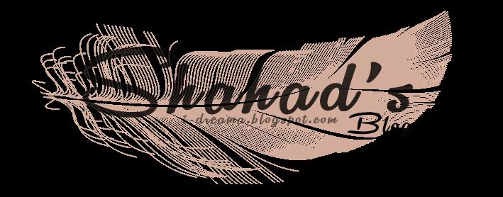 Shahad's Blog