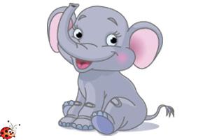 слон детские картинки