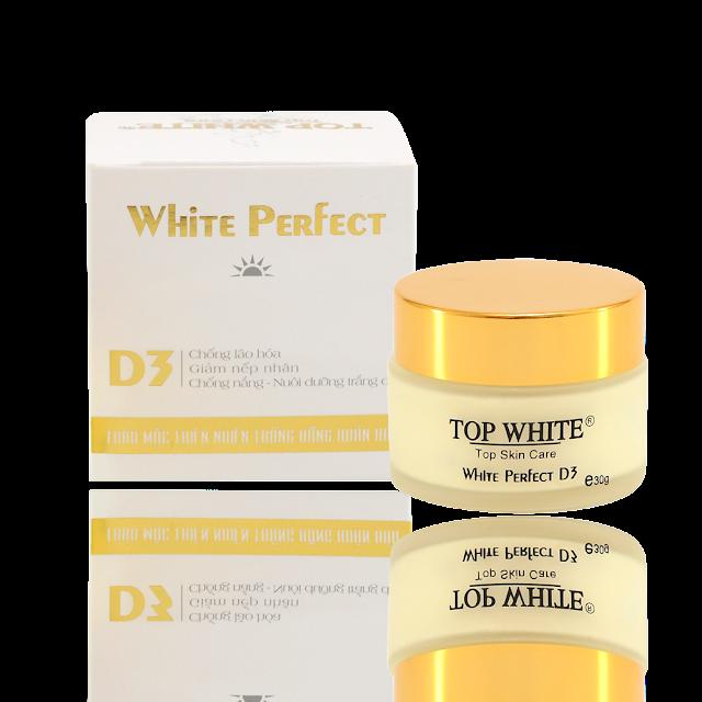White Perfect D3 kem dưỡng trắng da trị nám ban ngày