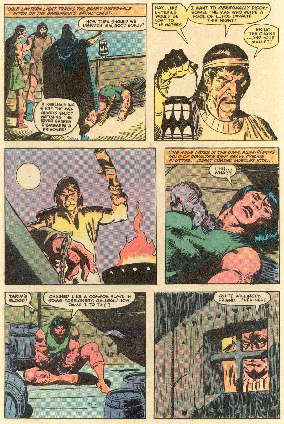 Conan the Barbarian (1970) Issue #140 #152 - English 3