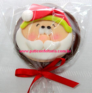 doce pirulito chocolate natal papai noel