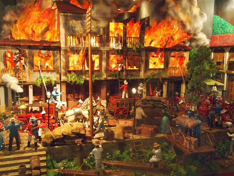 Gran incendio de Guayaquil