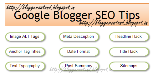 Top 10 SEO Tips For Blogger/Blogspot