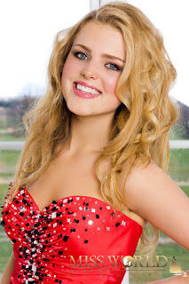 Miss World Denmark 2012 Michelle Sabine Jensen