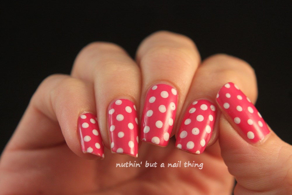 Nuthin But A Nail Thing Polka Dot Nail Art