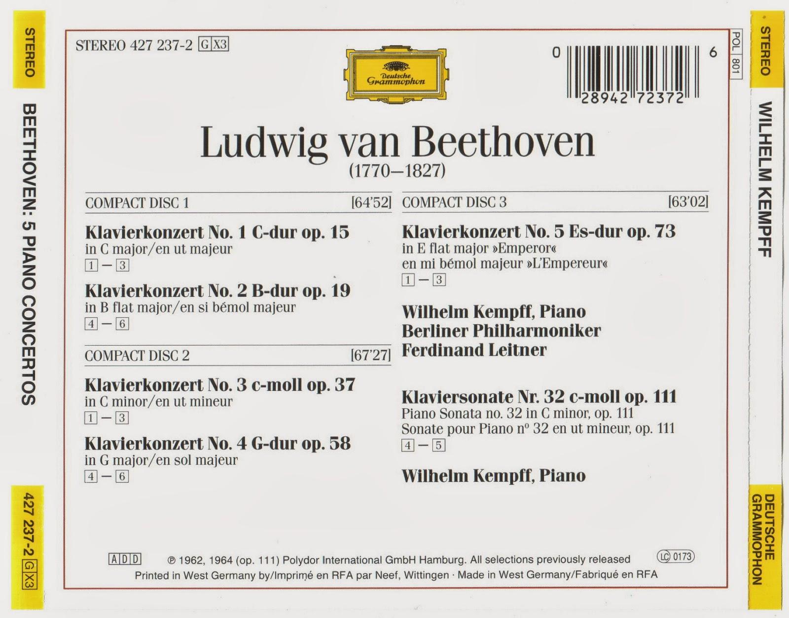 Opus 58. G Major pauer . Sol Majeur Beethoven : Klavier-konzert G Dur